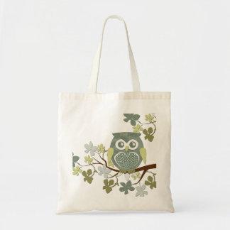 Polka Tree Owl Bag