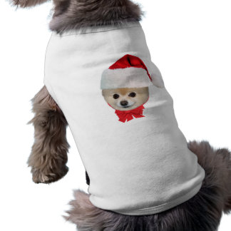 Pomeranian Dog Christmas Pet Shirt