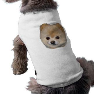 Pomeranian Dog  Sweater Sleeveless Dog Shirt