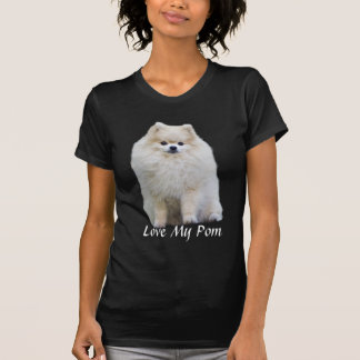 Pomeranian Ladies T-Shirt
