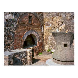 Pompeii, Bakery Postcard