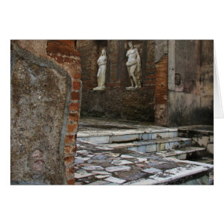 Pompeii - Forum Greeting Card
