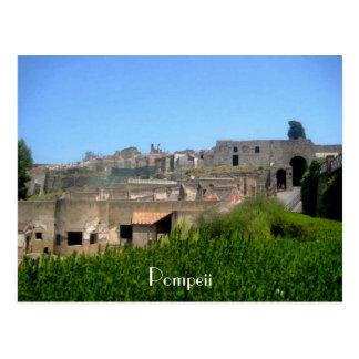 Pompeii Italy Postcard