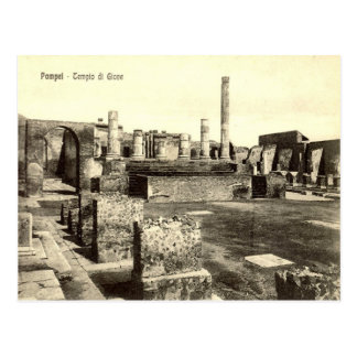 Pompeii, Temple of Jupiter Postcard