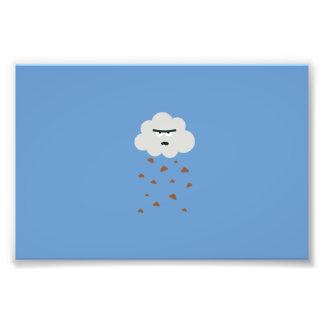 poo weather photo print