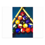 Pool Balls - Rack Em Up! Postcard
