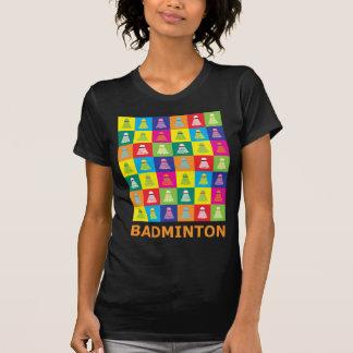 Pop Art Badminton Tee Shirt