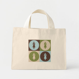Pop Art Midwifery Mini Tote Bag