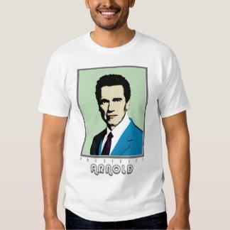 Pop Art President Arnold Tshirt