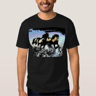 Pop Art Running Horses Shirt