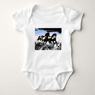 Pop Art Running Horses T Shirt