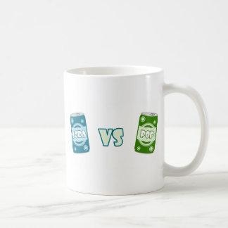 Pop vs Soda Basic White Mug