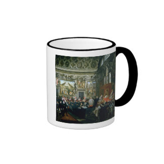 Pope Paul V  with an Audience, 1620 Ringer Mug