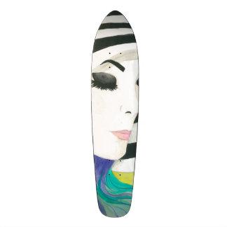 Porcelain 21.3 Cm Mini Skateboard Deck