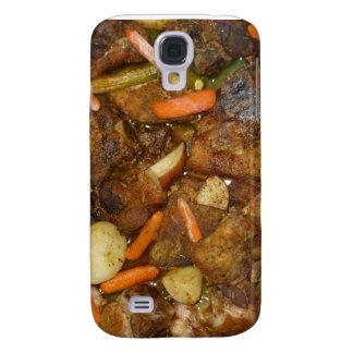 pork carrots potatoes oven baked food design galaxy s4 case