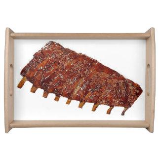 """Pork Ribs"" design serving trays"
