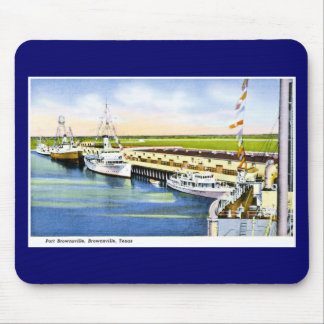 Port Brownsville, Brownsville, Texas Mouse Pad