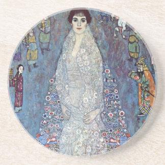 Portrait Baroness Elisabeth Bacchofen Echt, Klimt Drink Coaster