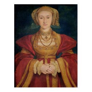 Portrait of Anne of Cleves  1539 Postcard