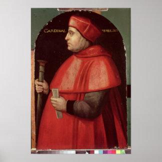 Portrait of Cardinal Thomas Wolsey Poster