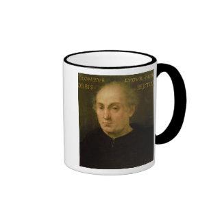 Portrait of Christopher Columbus Ringer Mug