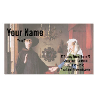 Portrait of Giovanni Arnolfini and his Wife Pack Of Standard Business Cards