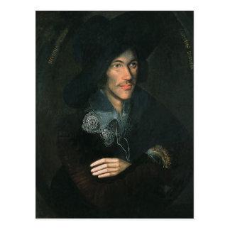 Portrait of John Donne, c.1595 Postcard