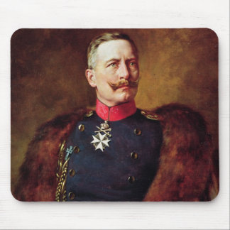 Portrait of Kaiser Wilhelm II Mouse Pad