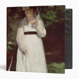 Portrait of Lise, 1867 3 Ring Binders