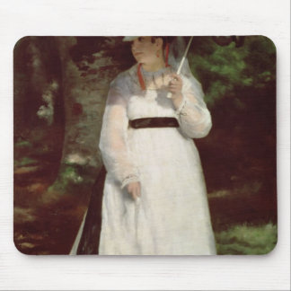 Portrait of Lise, 1867 Mouse Pad