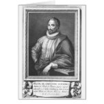 Portrait of Miguel de Cervantes Saavedra Greeting Card