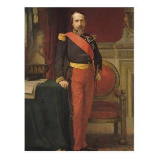 Portrait of Napoleon III  1862 Postcard