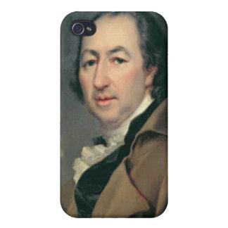 Portrait of Nikolai Ivanovich Novikov Cases For iPhone 4