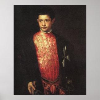 Portrait of Ranuccio Farnese Poster