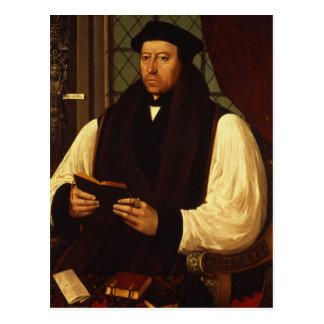 Portrait of Thomas Cranmer  1546 Postcard