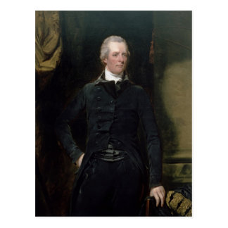 Portrait of William Pitt the Younger Postcard