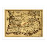 PortugalPanoramic MapPortugal Postcard