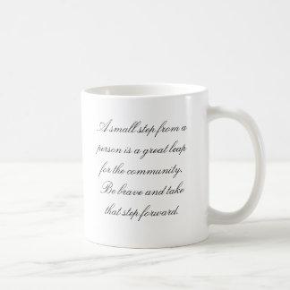 Positive Thoughts about life Basic White Mug