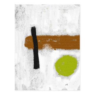 "Postcard ""a Green Circle """