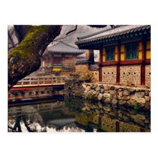 Postcard of Songgwangsa, South Korea