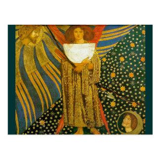 Postcard: Rossetti's Painting of Love Postcard