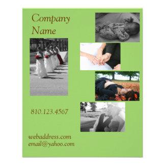 Postcard Size Business Card 11.5 Cm X 14 Cm Flyer