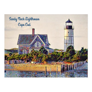 Postcards from Cape Cod (Sandy Neck Lighthouse)