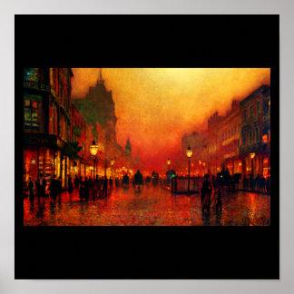 Poster-Classic/Vintage-John Atkinson Grimshaw 16 Poster