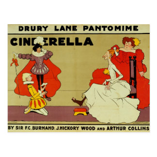 Poster for 'Cinderella' Postcard