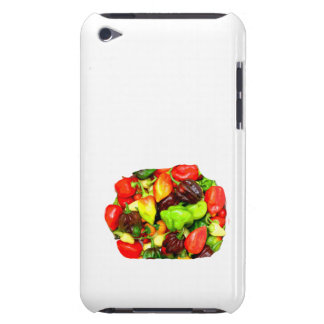 Posterized Hot Pepper Assortment Picture iPod Case-Mate Cases
