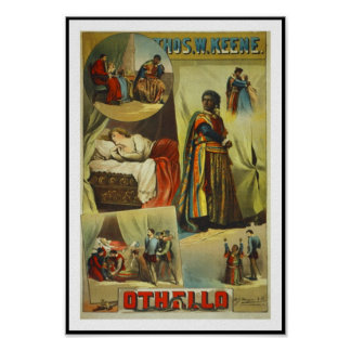 """Posters Theater Vintage """"Othello"""""""