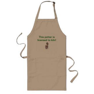 Pottery apron