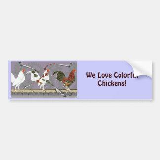 Poultry Painter Bumper Sticker