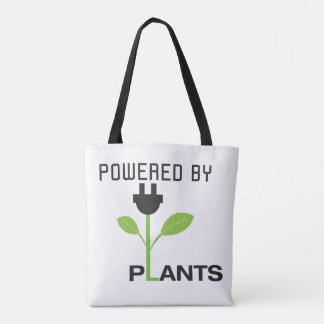 Powered By Plants Tote Tote Bag